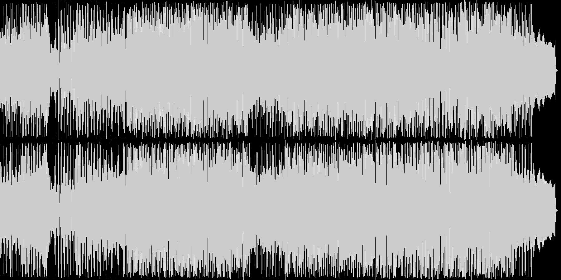リズムマシンの音色が心地よいバラードの未再生の波形