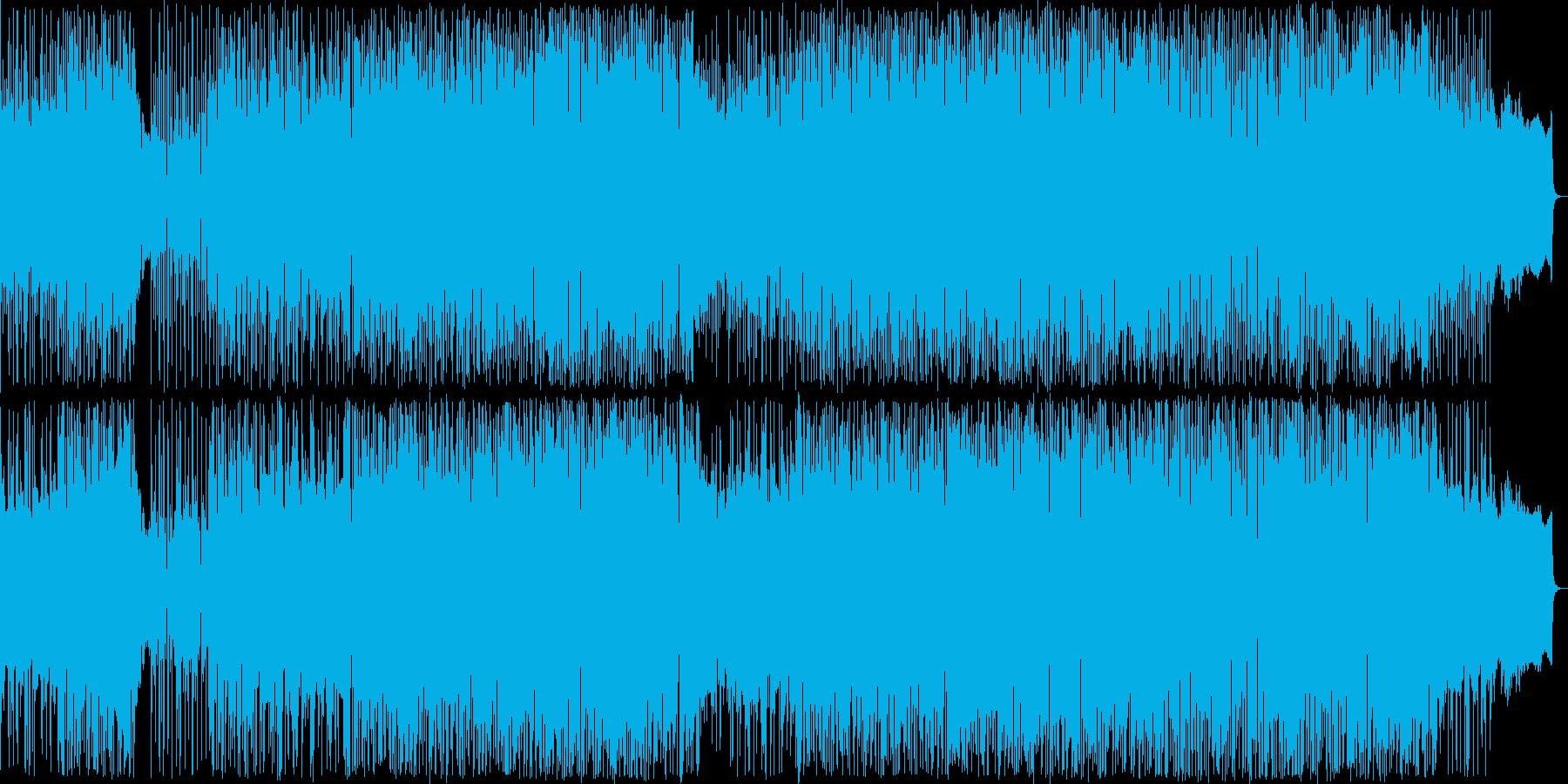 リズムマシンの音色が心地よいバラードの再生済みの波形