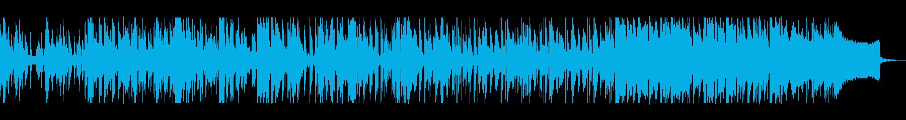 シリアスで切ないシンセサイザーポップスの再生済みの波形