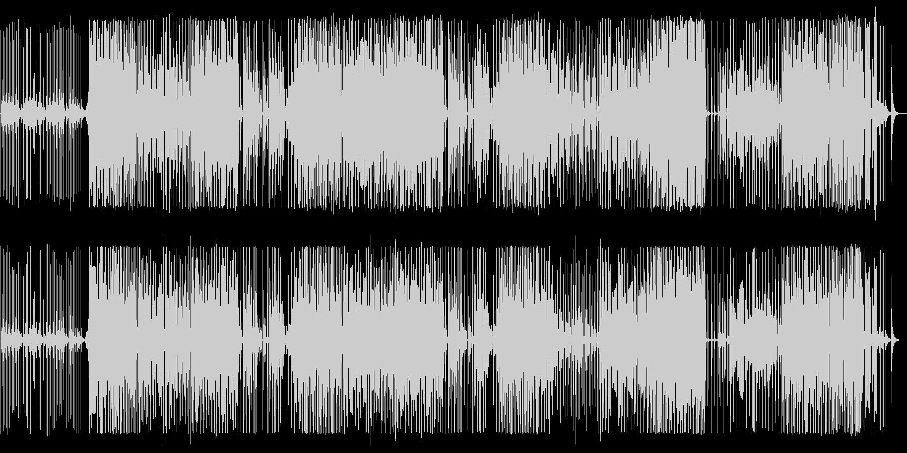 鉄琴の音色ではじまるせつない曲の未再生の波形