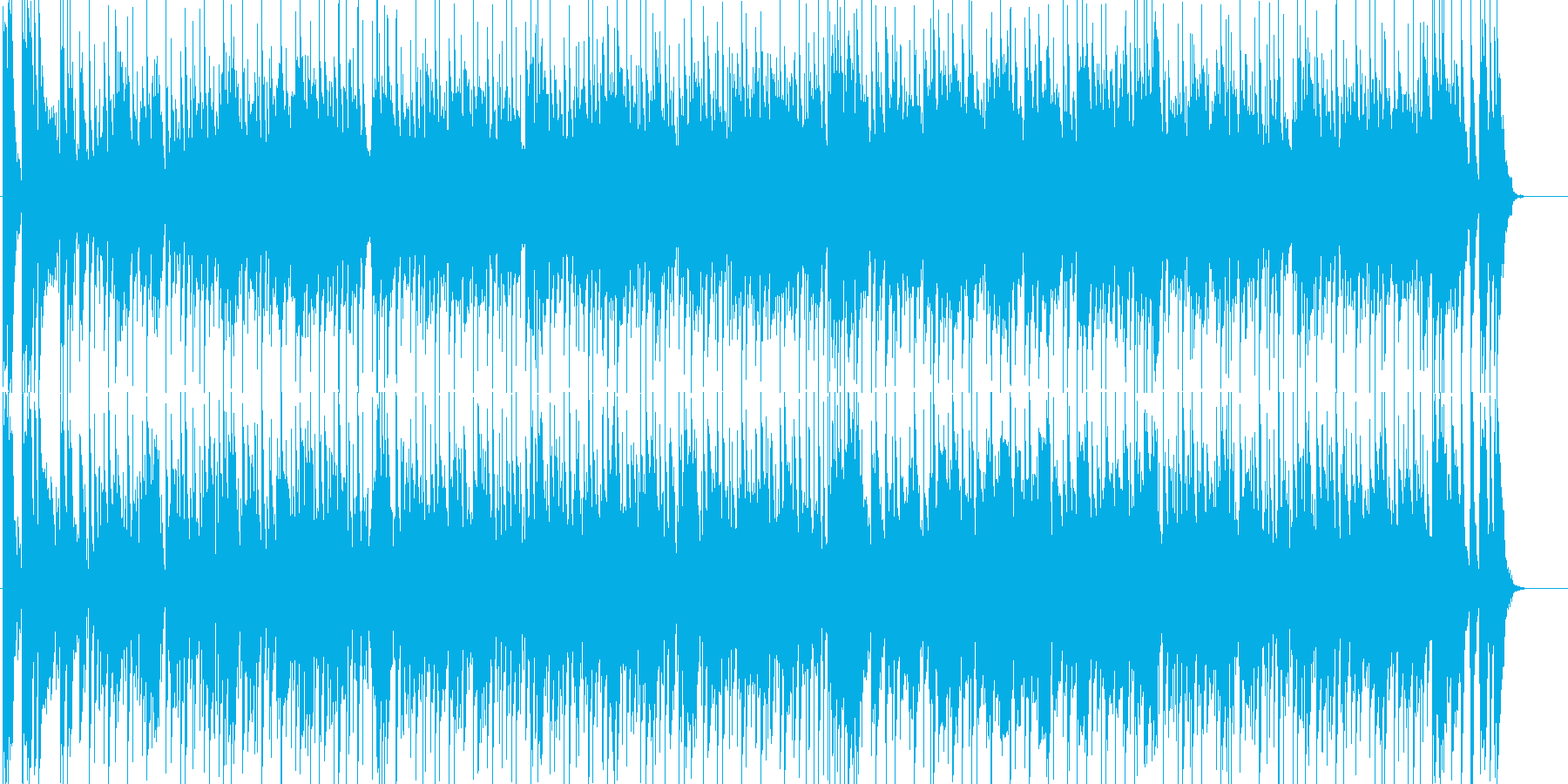 ゆったりとした大人なソウルミュージックの再生済みの波形