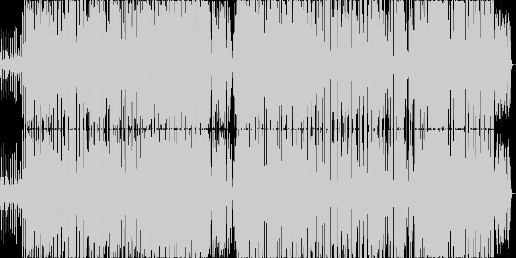 ポジティブで陽気なレゲエポップの未再生の波形
