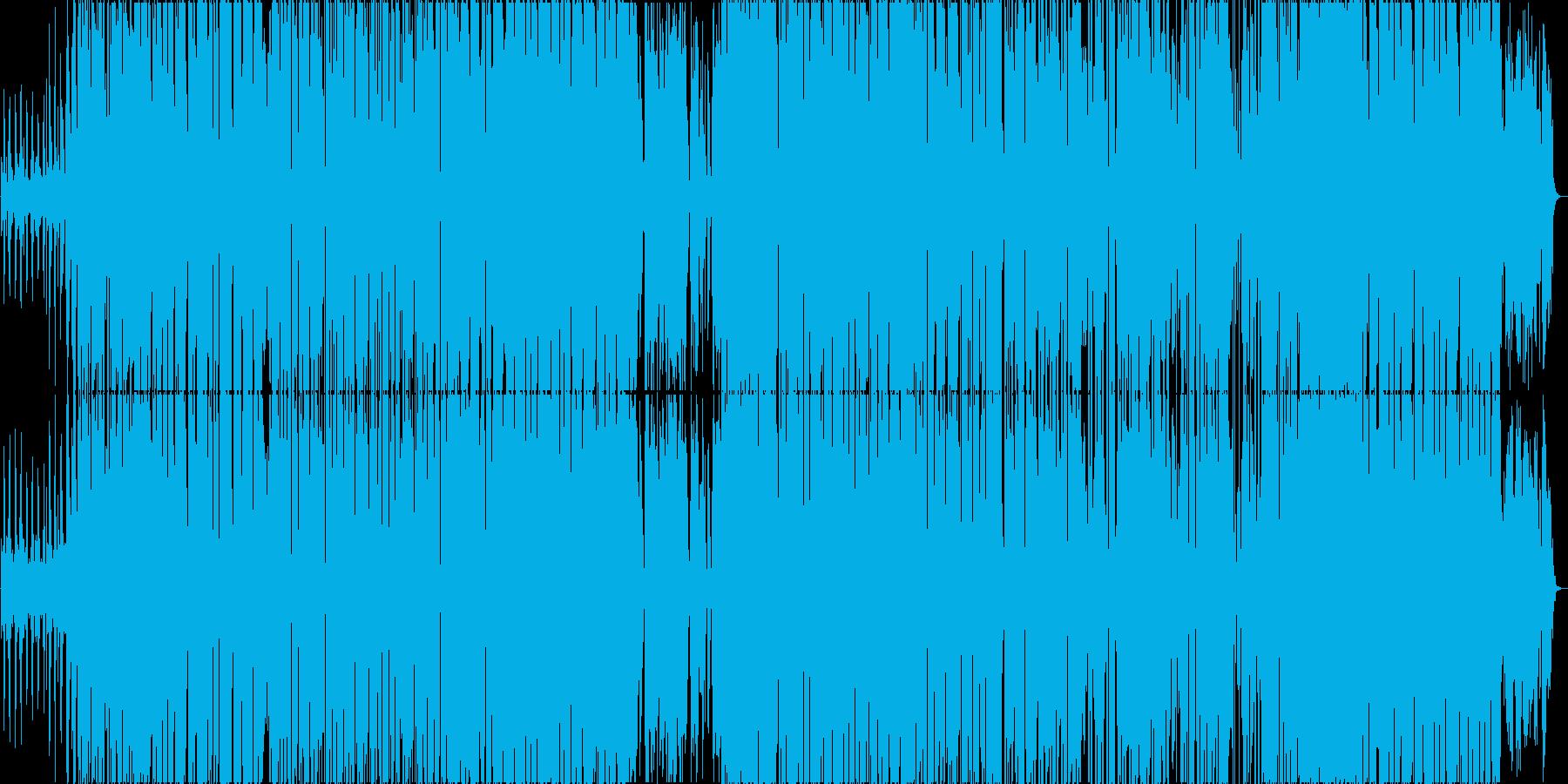 ポジティブで陽気なレゲエポップの再生済みの波形