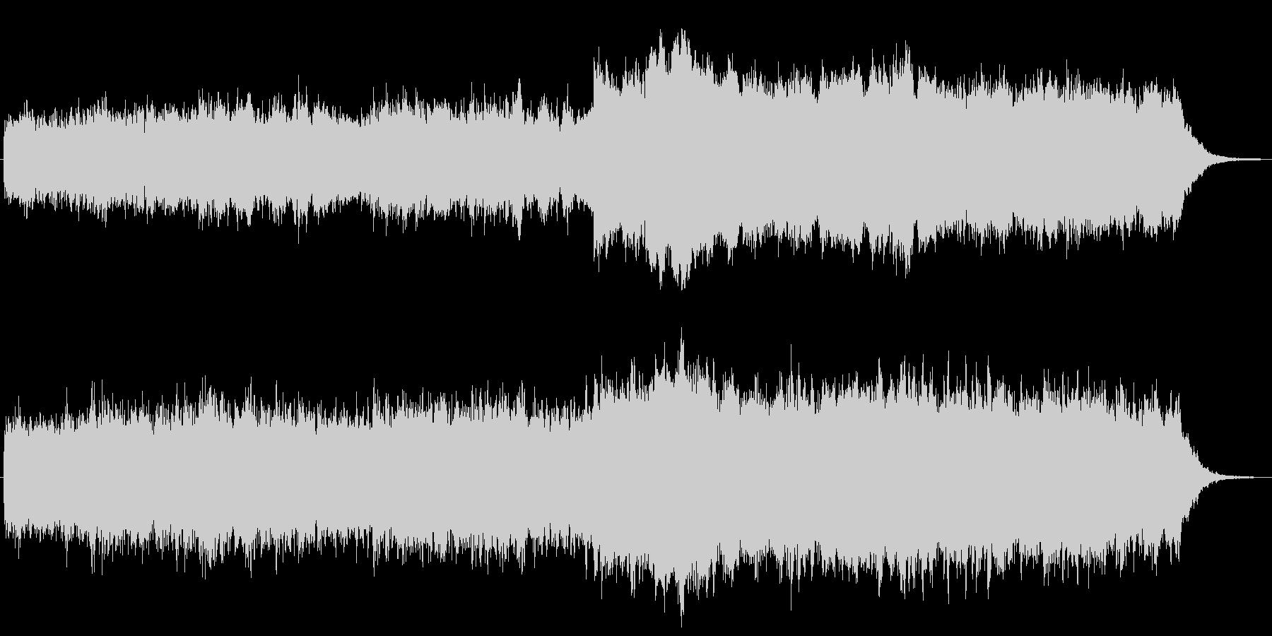 シンセによるキラキラしたジングル3の未再生の波形