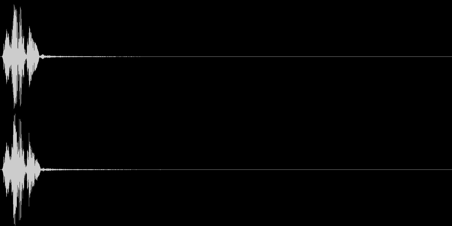 KAKUGE 格闘ゲーム戦闘音 24の未再生の波形