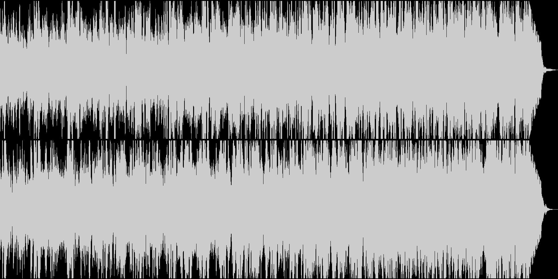 海・森・自然を感じさせるゆったりBGMの未再生の波形