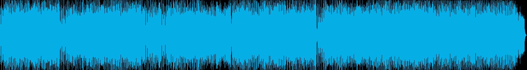 ほんわかした雰囲気の幻想的なポップスの再生済みの波形