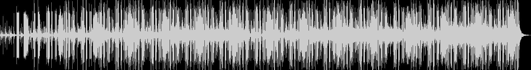 エスニック系のエレクトロポップの未再生の波形