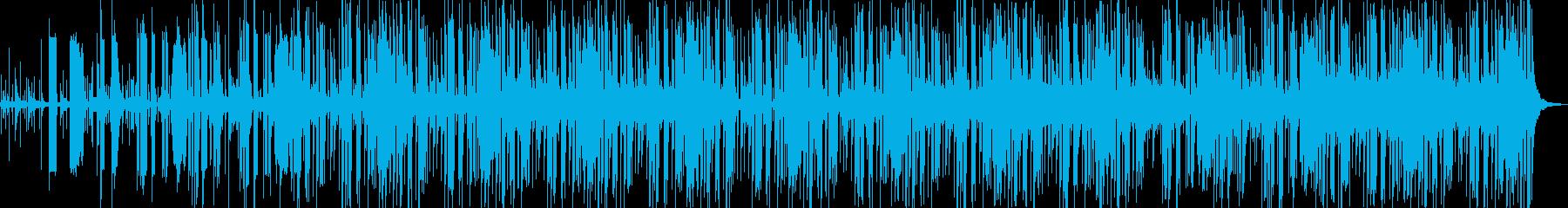 エスニック系のエレクトロポップの再生済みの波形