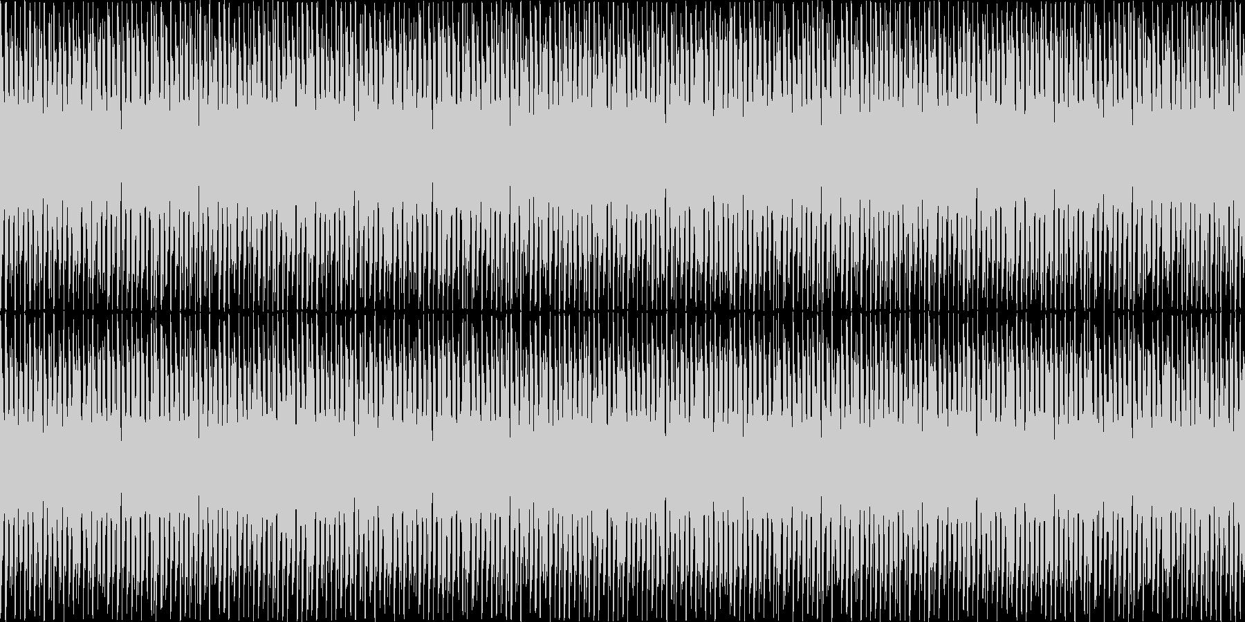 幻想的で力強い生演奏ループ音源の未再生の波形