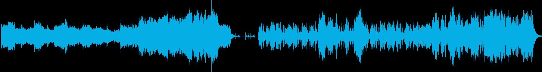 わくわくする物語によく合うコミカルな音楽の再生済みの波形
