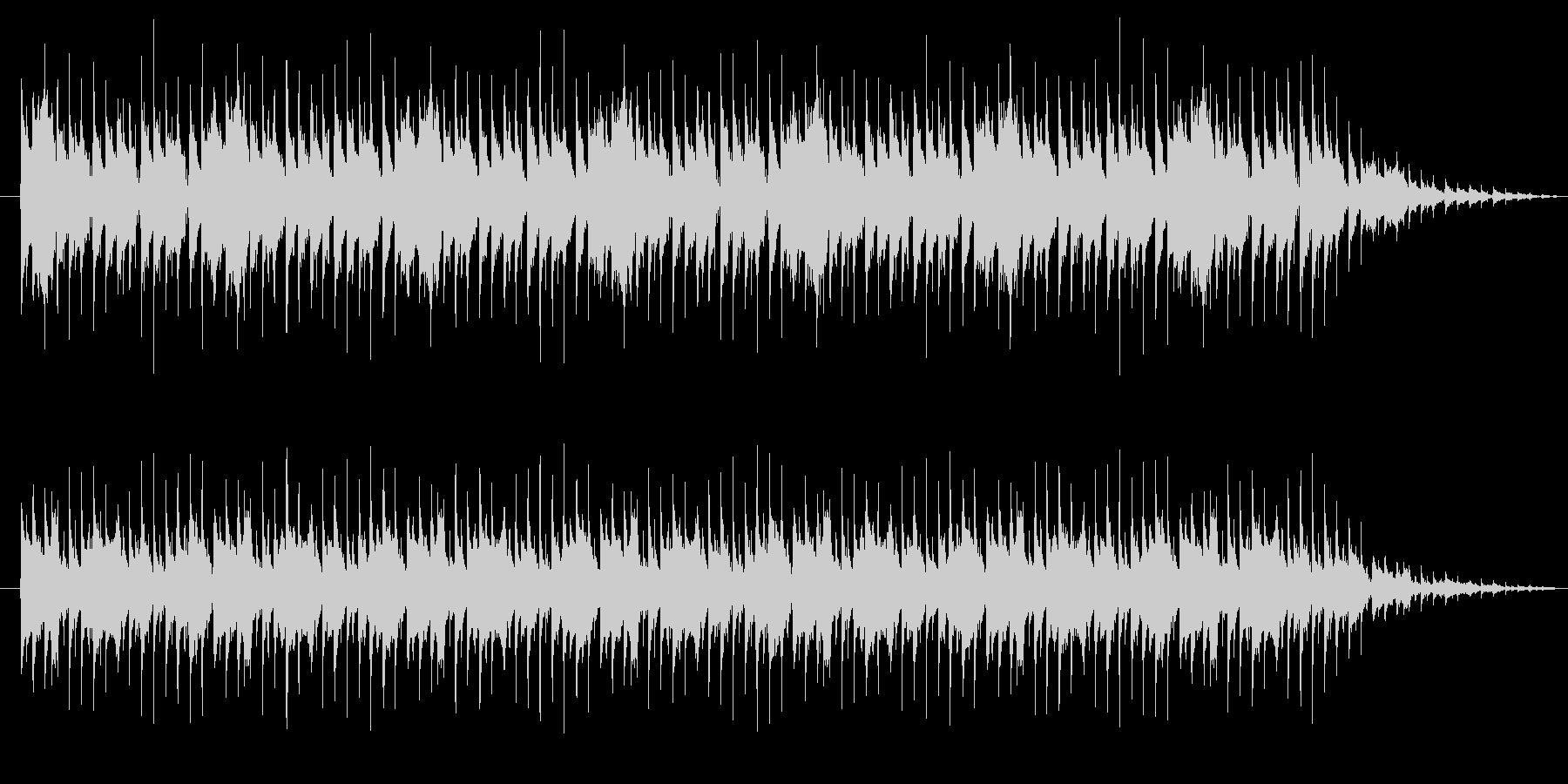 リバース音が特徴的なテクノの未再生の波形