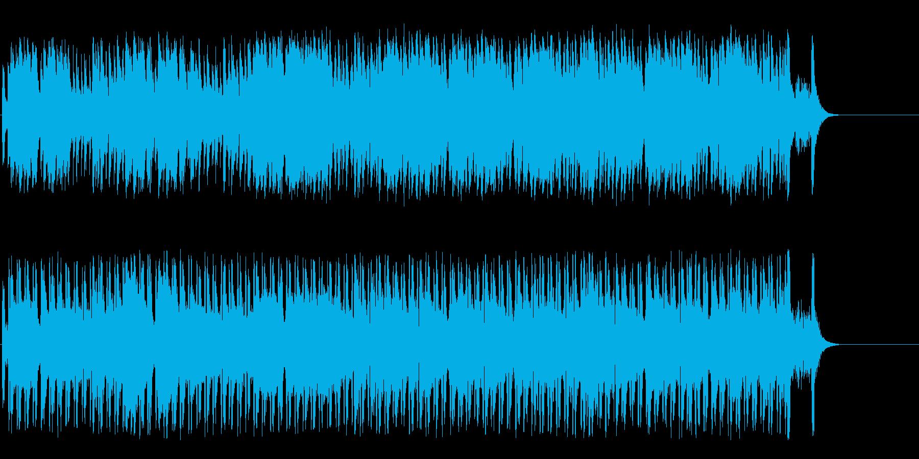 懐かしブギウギ和風ポップ(A~サビ~…)の再生済みの波形