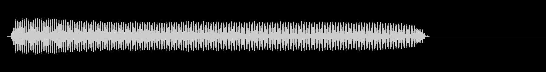 「ピィィーッ」サッカー試合開始時の笛の未再生の波形