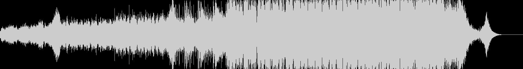 凱旋的で高揚感のあるシンフォニックEDMの未再生の波形