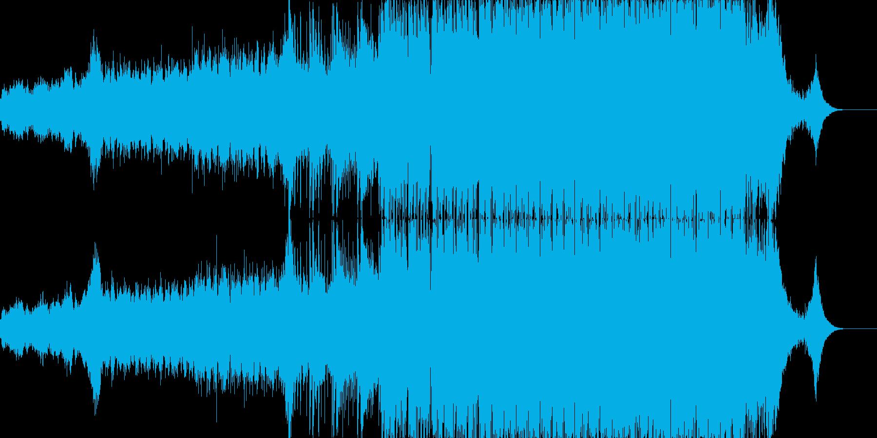 凱旋的で高揚感のあるシンフォニックEDMの再生済みの波形