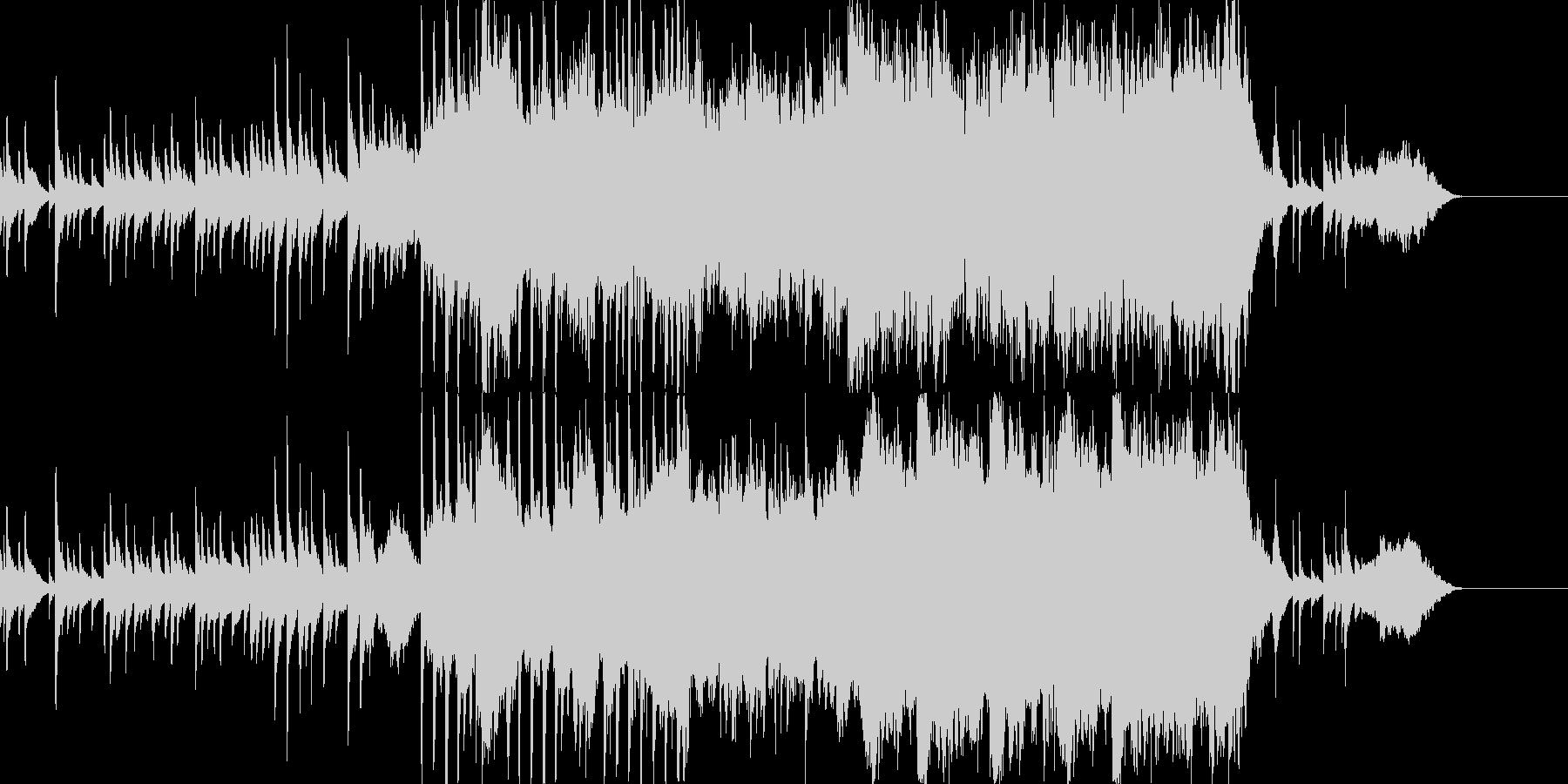 ピアノとオーケストラによるバラードの未再生の波形