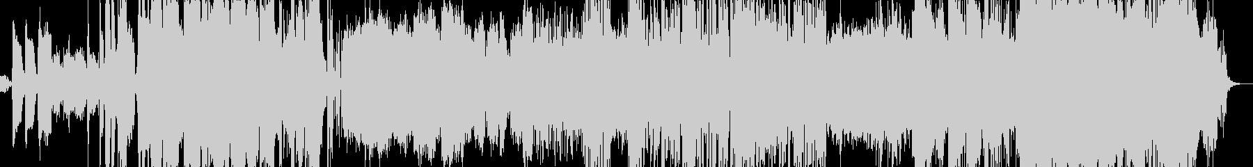 機械的・オープニング・ピアノの未再生の波形