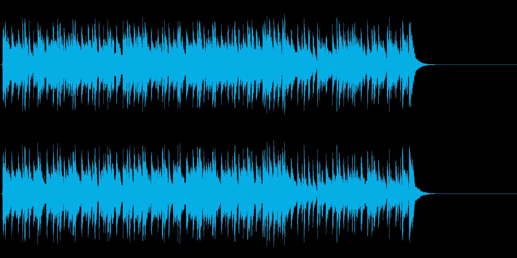 リラックスなフュージョン(サビ~エンド)の再生済みの波形