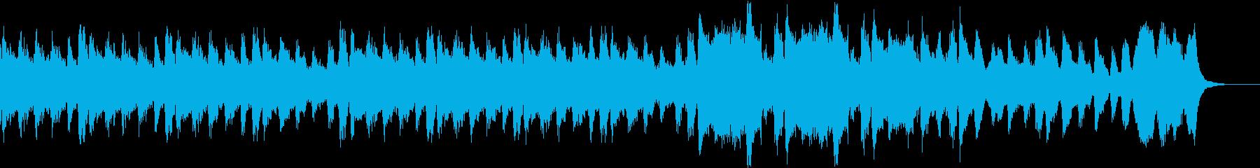 シリアスで低音の威圧感を意識しました。の再生済みの波形