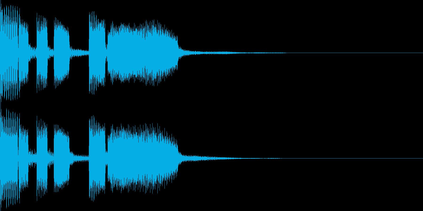 パパパパッパパーの再生済みの波形