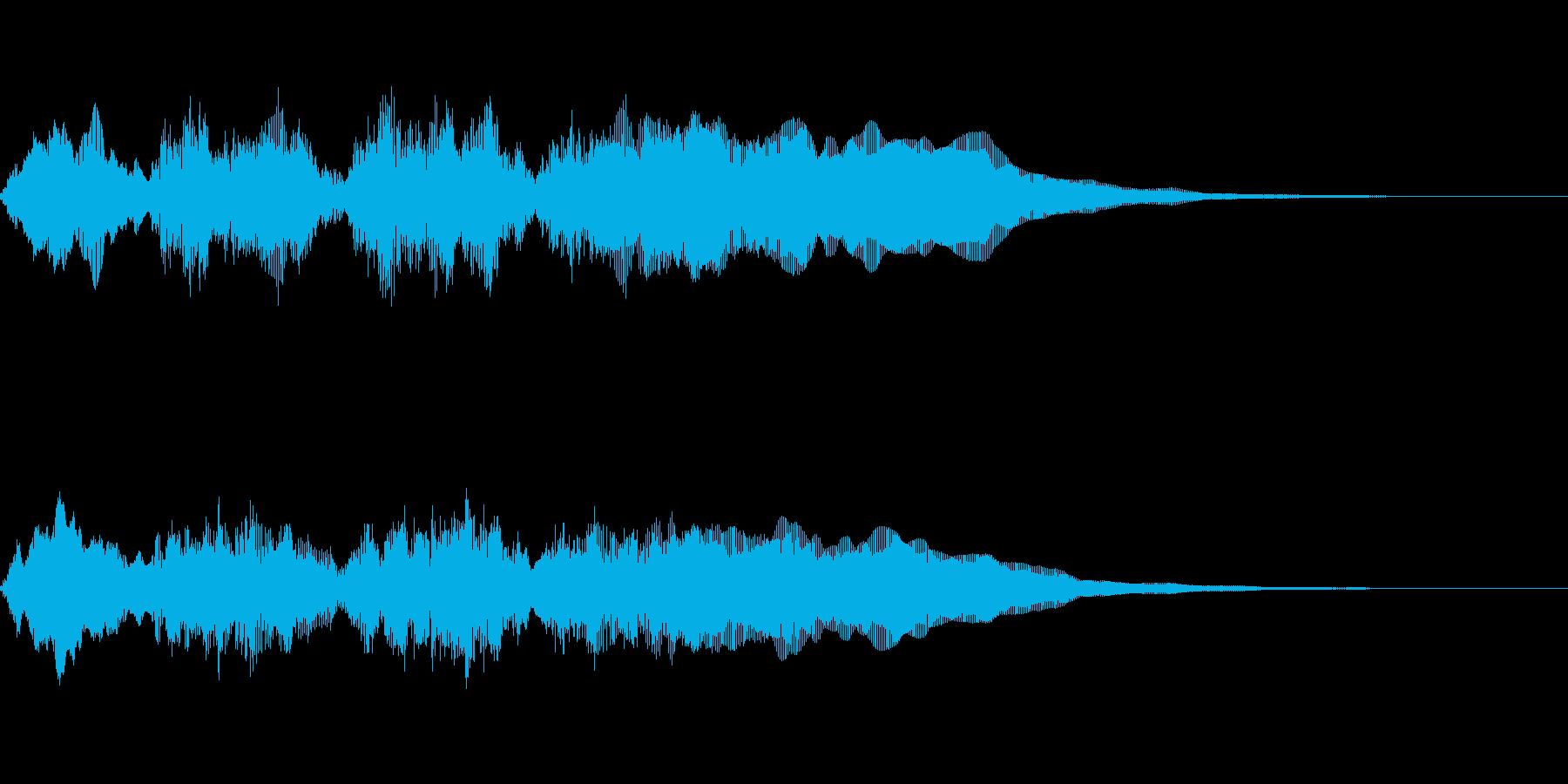 ゲームオーバー オチ ズッコケ(短)の再生済みの波形