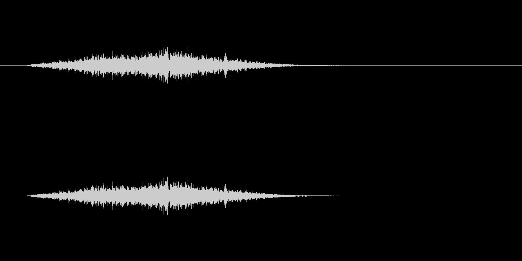 【風 合成01-2】の未再生の波形