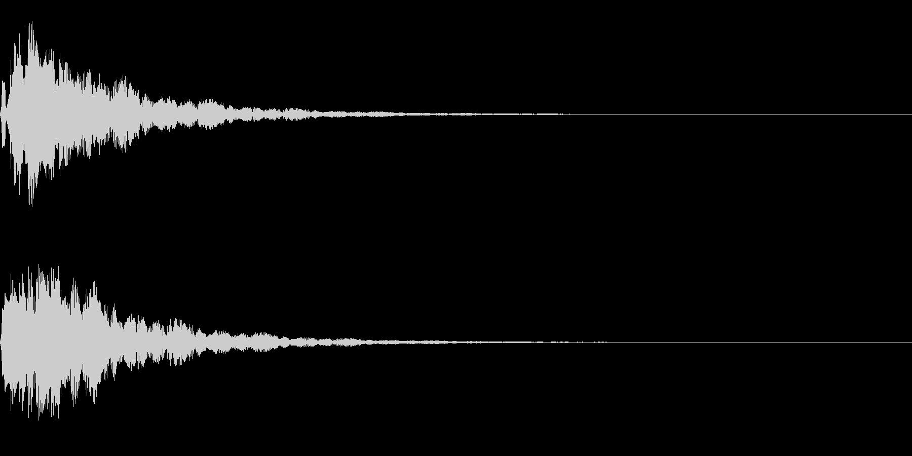 サウンドロゴ11(ベル系)の未再生の波形