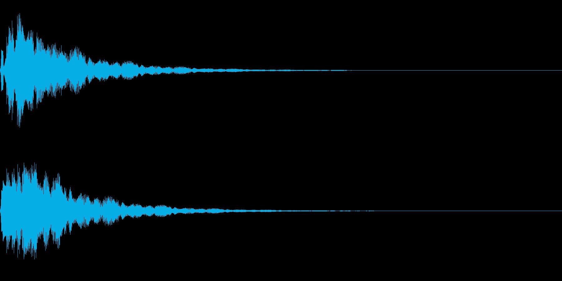 サウンドロゴ11(ベル系)の再生済みの波形
