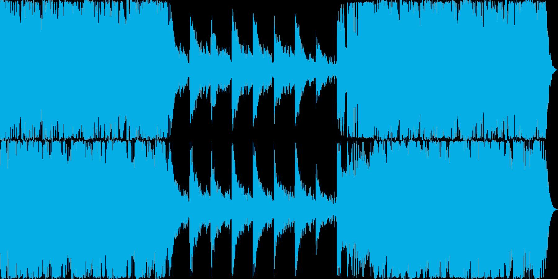 RPGゲームのオープニングオーケストラ風の再生済みの波形