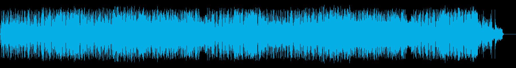 店内向けのポップ ロック(フルサイズ)の再生済みの波形