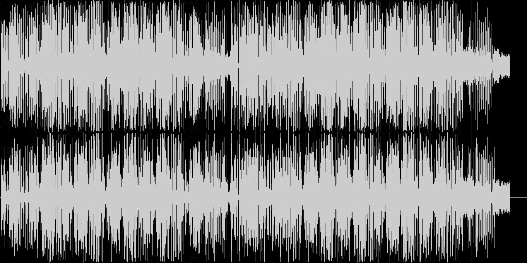 80年代のクラフトワーク風テクノポップの未再生の波形