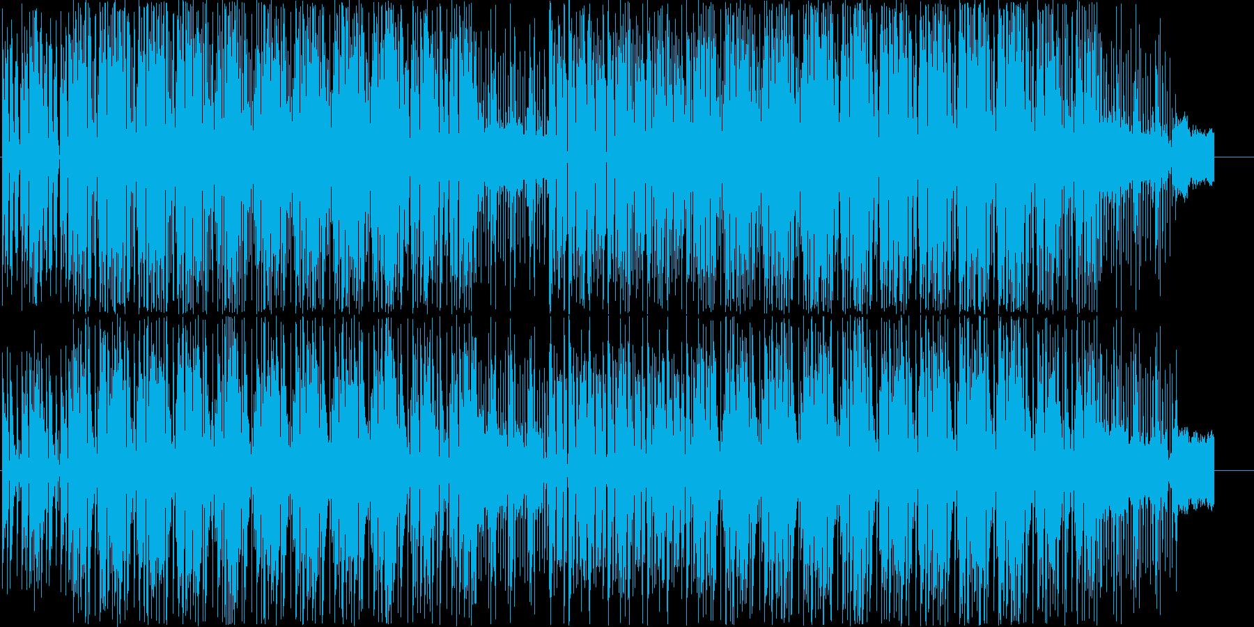 80年代のクラフトワーク風テクノポップの再生済みの波形