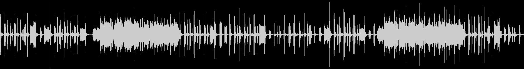 ほのぼのコミカルギャグな鍵盤ハーモニカの未再生の波形