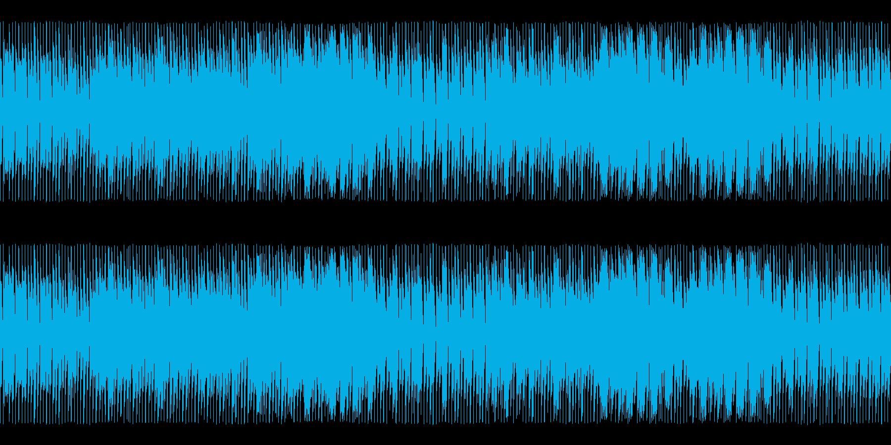 BGM007-05 チップチューンの穏…の再生済みの波形