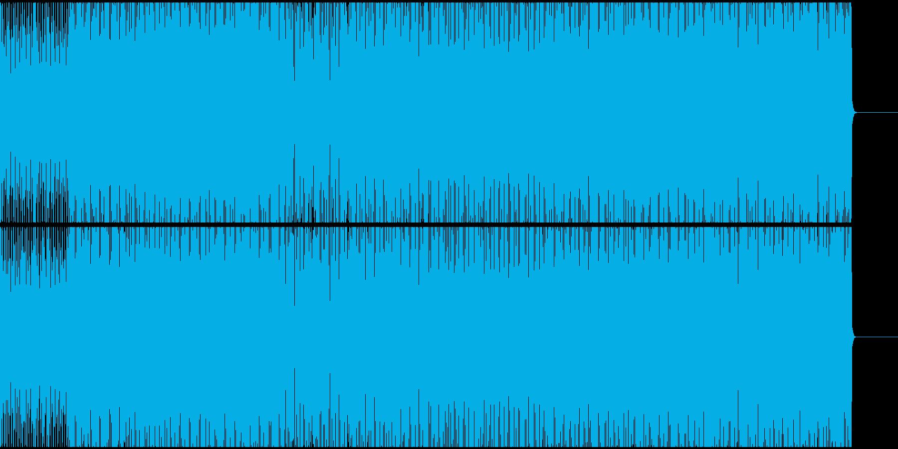 イビザ系明るめのエレクトリック・ハウスの再生済みの波形