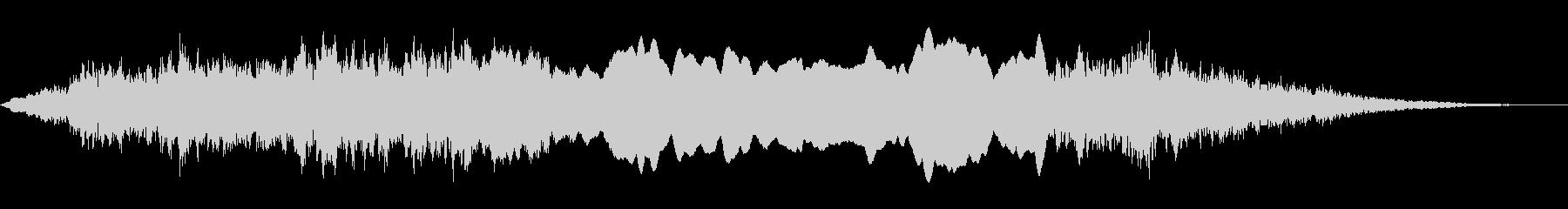 サイレン・警報の未再生の波形