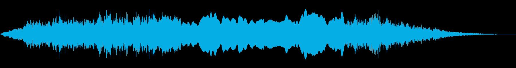 サイレン・警報の再生済みの波形