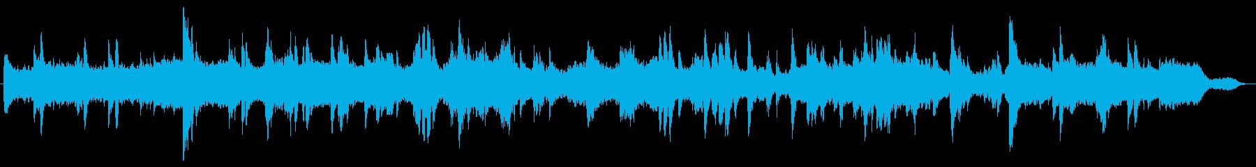 爽やかな音色がリラックス効果を発揮しますの再生済みの波形