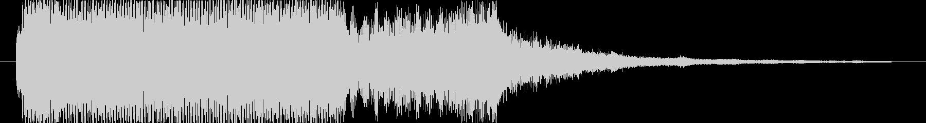 サウンドロゴ の未再生の波形