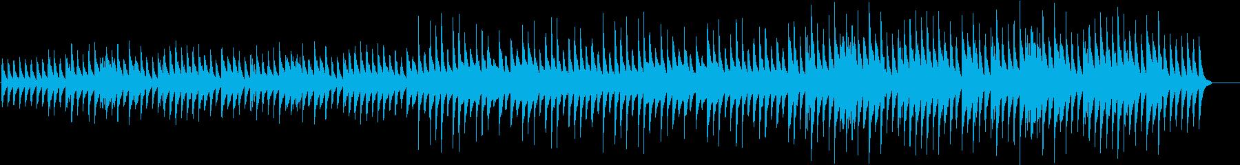悲劇の後をイメージしたピアノソロ曲の再生済みの波形