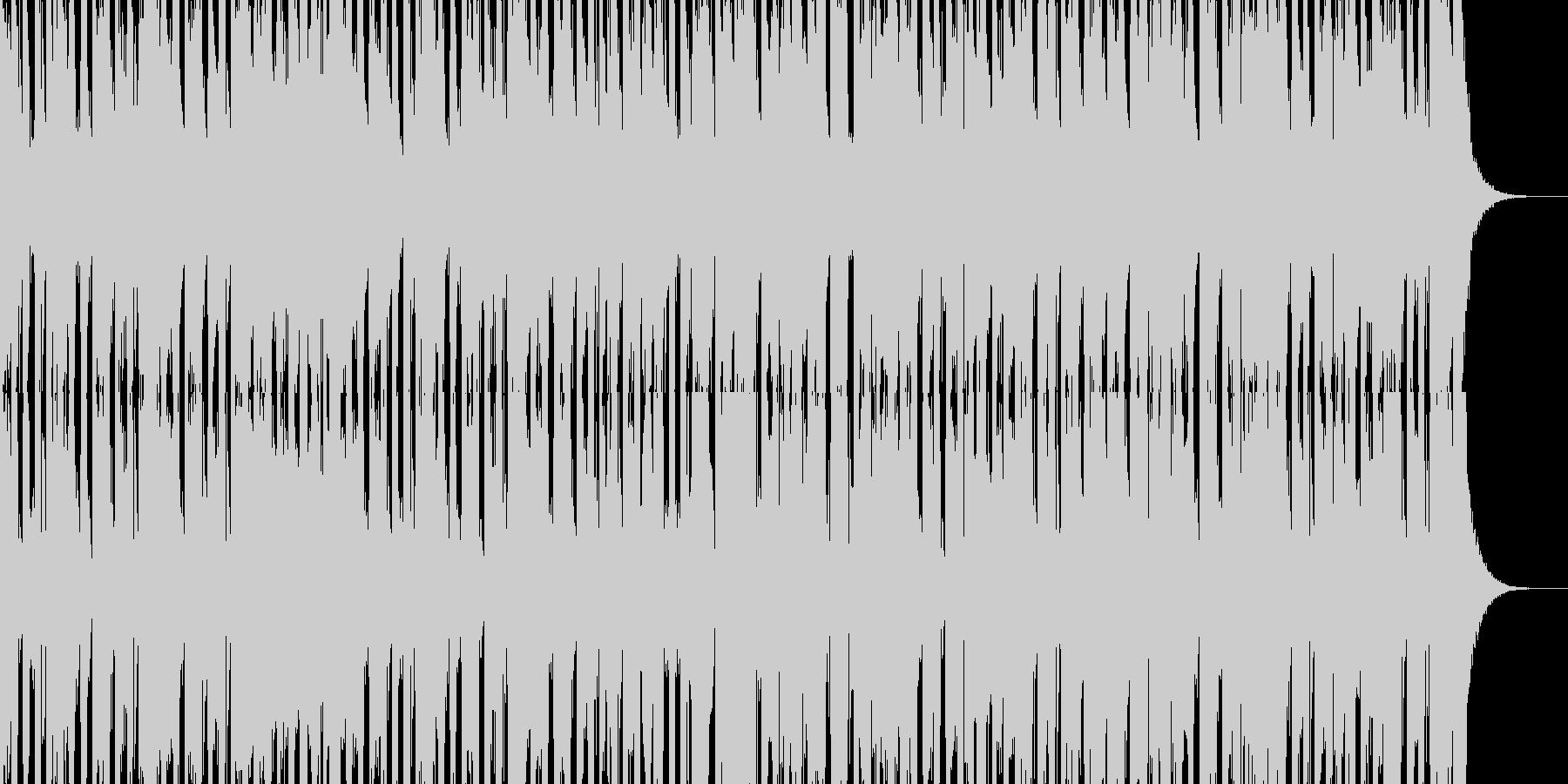 ジングルベル スキャット入り2 ED終止の未再生の波形