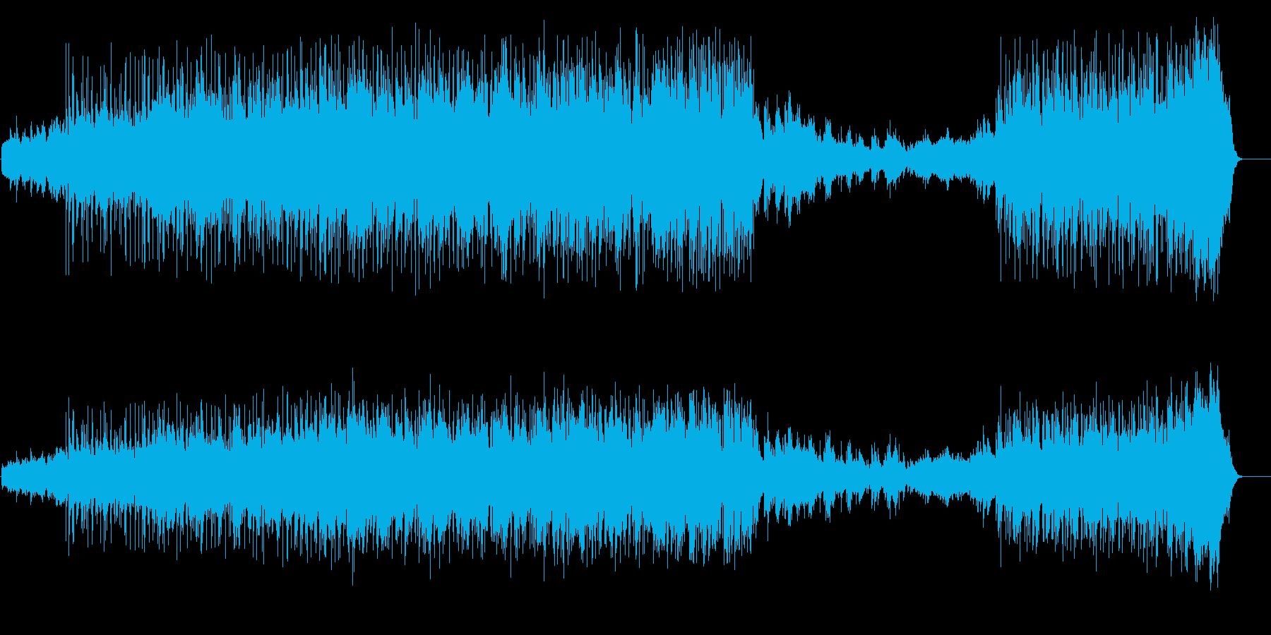 ムーディーなアーバン・ナイトの再生済みの波形