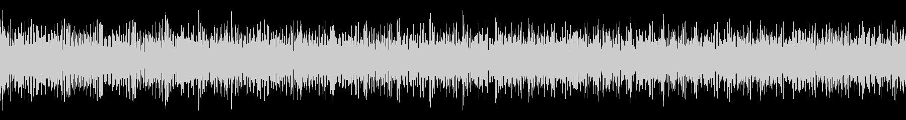 ガガガガガガ (ループ仕様のマシンガン)の未再生の波形