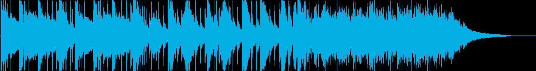 落ち着いた日常のシーンを想定した楽曲で…の再生済みの波形