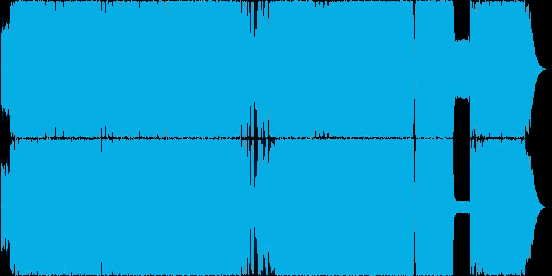 ストリングスが印象的な疾走感あるロックの再生済みの波形