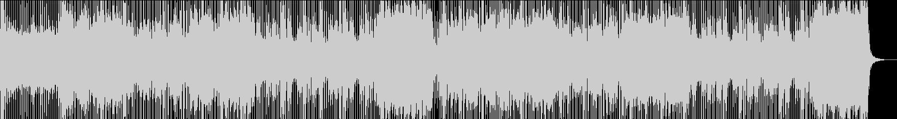 ロック/激しい/重い/シンセ/ピアノ抜きの未再生の波形