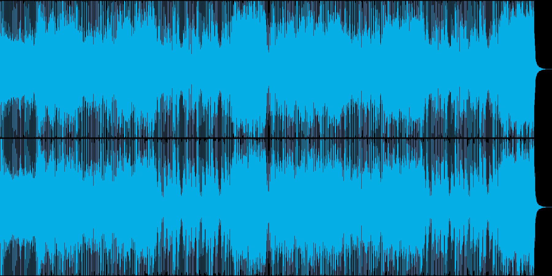 ロック/激しい/重い/シンセ/ピアノ抜きの再生済みの波形