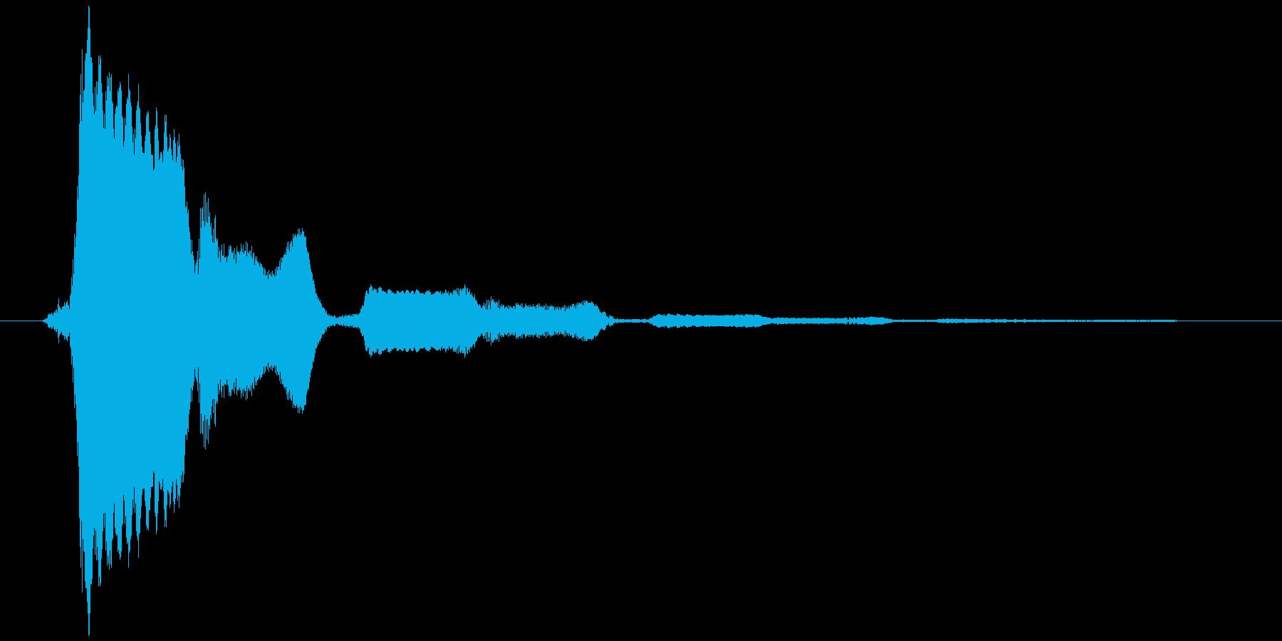 ポップアップ_決定音系_04の再生済みの波形