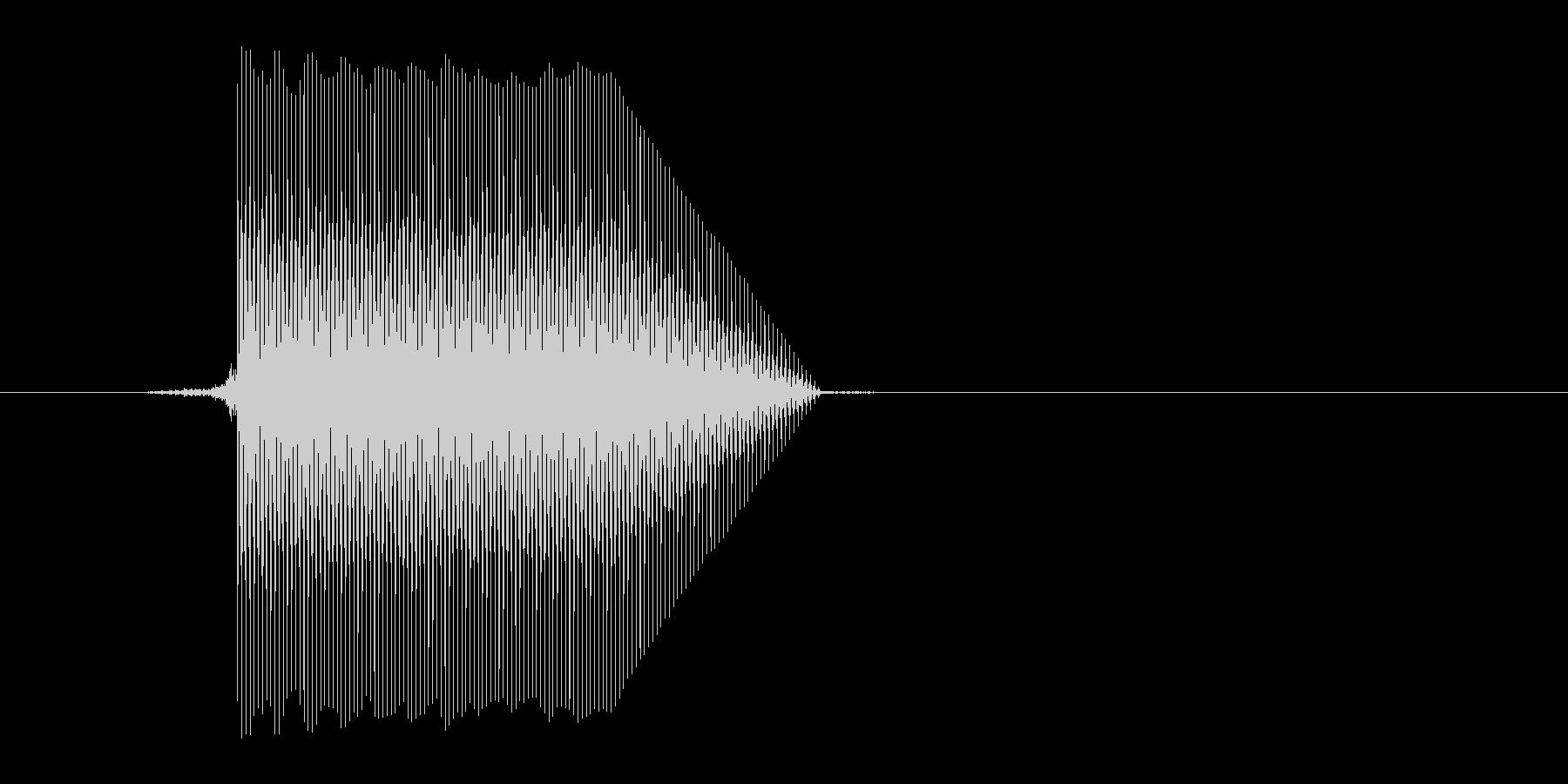 ゲーム(ファミコン風)セレクト音_009の未再生の波形